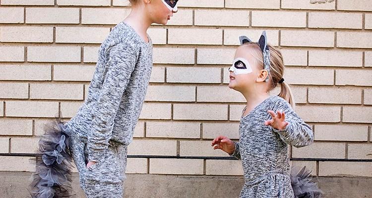 DIY Raccoon Costume