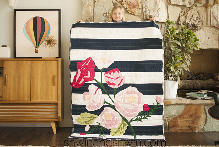 Floral Applique Quilt Pattern