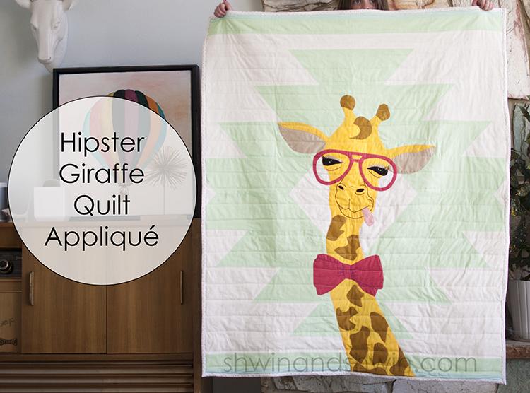 Giraffe Quilt Appliqué Pattern