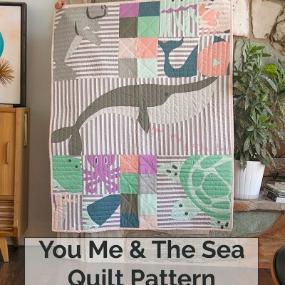 You Me & The Sea Quilt Pattern