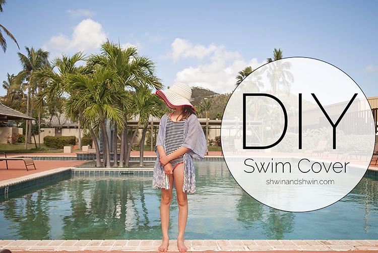 DIY Swim Cover-Up Tutorial || Shwin&Shwin