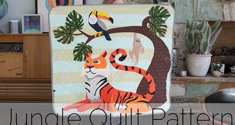 Jungle Quilt Pattern