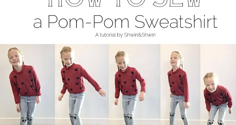 How to Sew a Pom-Pom Sweatshirt