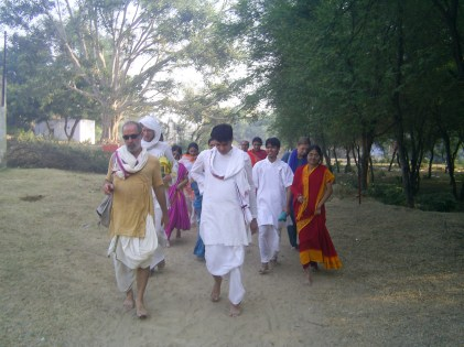 On Girirajji parikrama with Babashri