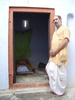 Shyamdas at Bhandirvan baithak, 2006