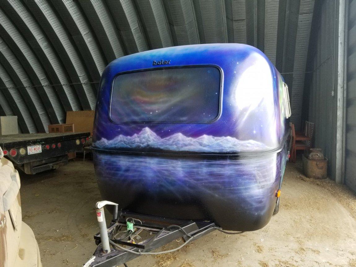 Solar Boler front