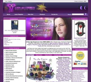 MMM Gems Ecommerce Website 2004