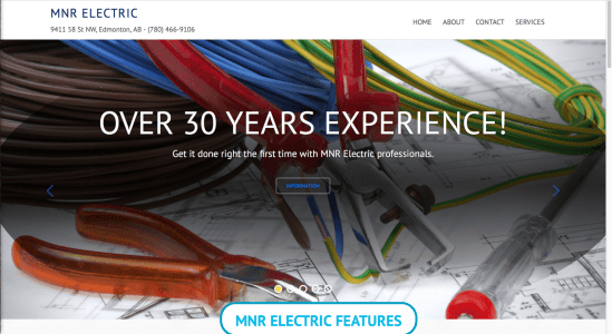 MNR Electric Website