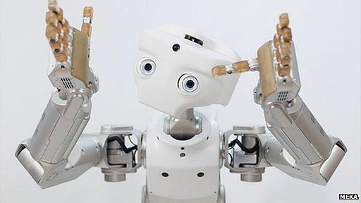 Le M1 de Meka est l'un des robots dont Google a fait l'aquisition ces dernières années.