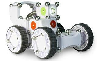 Le Kit MOSS de niveau avancé de la société Modular Robotics.