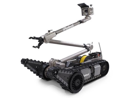 Le packbot dans sa version 2 (Image iRobot)
