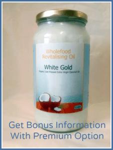 White Gold 1L Glass Premium Option