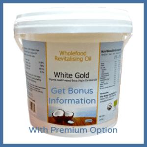 White Gold 4L Pail Premium Option