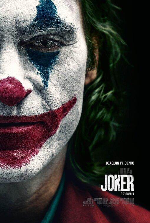 Official poster of movie Joker 2019