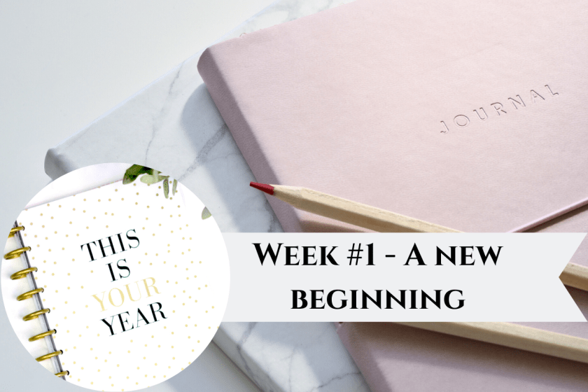 Writer's Journal - Week #1 : New Decade - New beginning