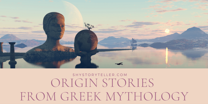 Greek Mythology Origin Stories Featured Image