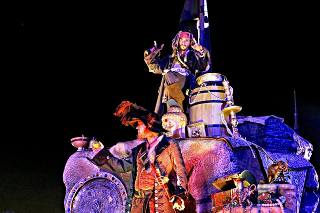 Pirates of the Caribbean on the Boo to You parade
