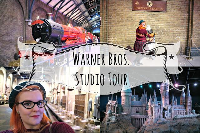Warner Bros Studio Tour collage