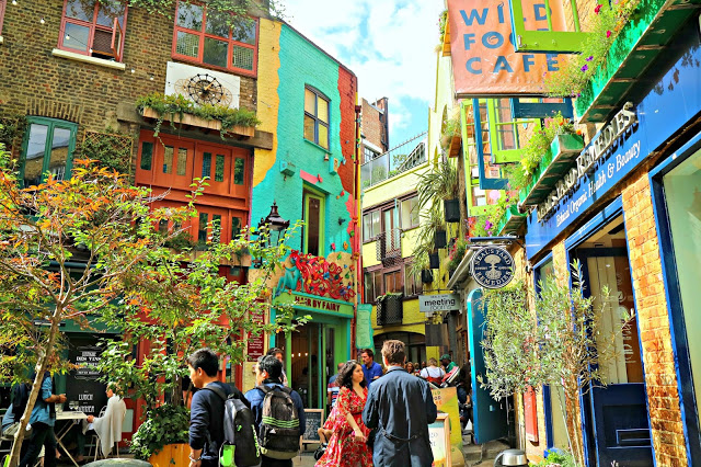 Neal's Yard when on a Central London Photo Walk