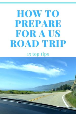 How to Prepare for a US Road Trip Pinterest Pin