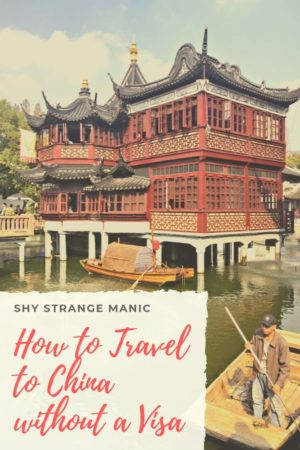 How to Travel to China without a Visa pinterest pin