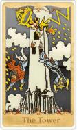 La Tarocchi della Torre basata su Rider-Waite