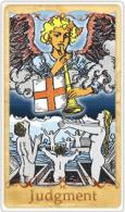 La Judgment Tarot Card basata su Rider-Waite
