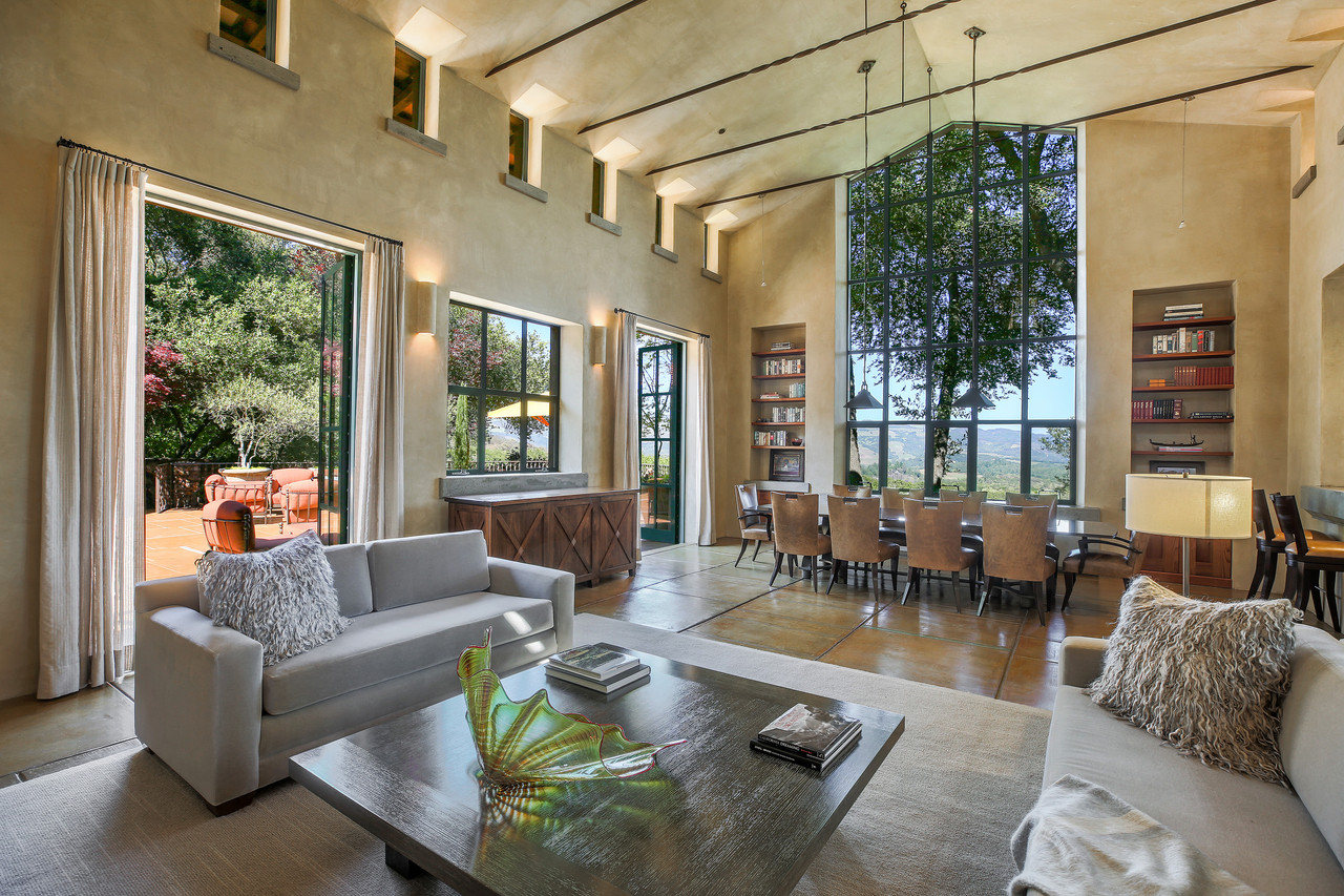 wine country living room house beautiful uk rooms in california wsj cherie and keith hughes were dallas but hoping to move back