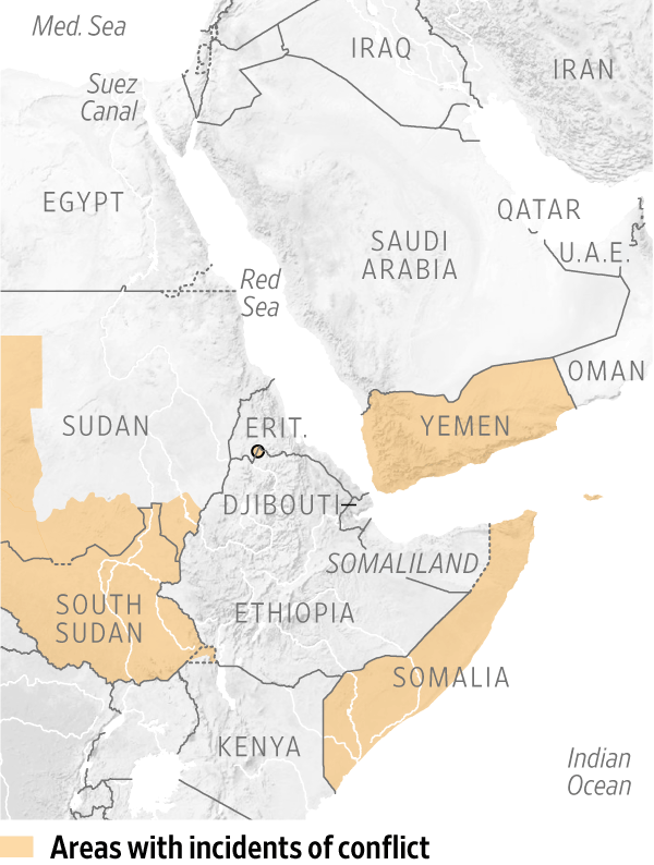 Global Powers Race for Position in Horn of Africa