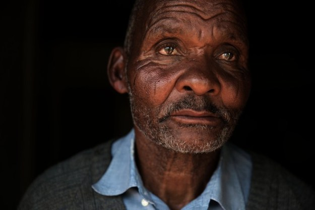 """""""My wish is to remain here and be able to farm,"""" said Thanda Mwelase, a relative of Mr. Mwelase."""