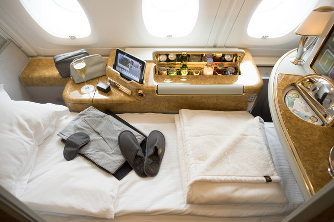 Emirates is investing in revving up the luxury areas of its fleets.