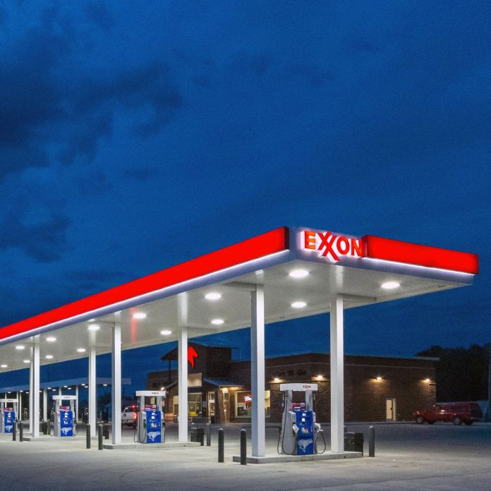 Exxon's output of about four million barrels a day is no higher than it was two decades ago.