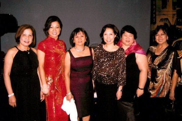 In 2009, the women toasted their 30th anniversary at Cedars-Sinai during the hospital's annual dinner honoring long-time employees. From left, Gertrudes Tan, Peachy Hain, Nora Levid, Joyette Jagolino, Connie Arostegui and Teresa Santos.