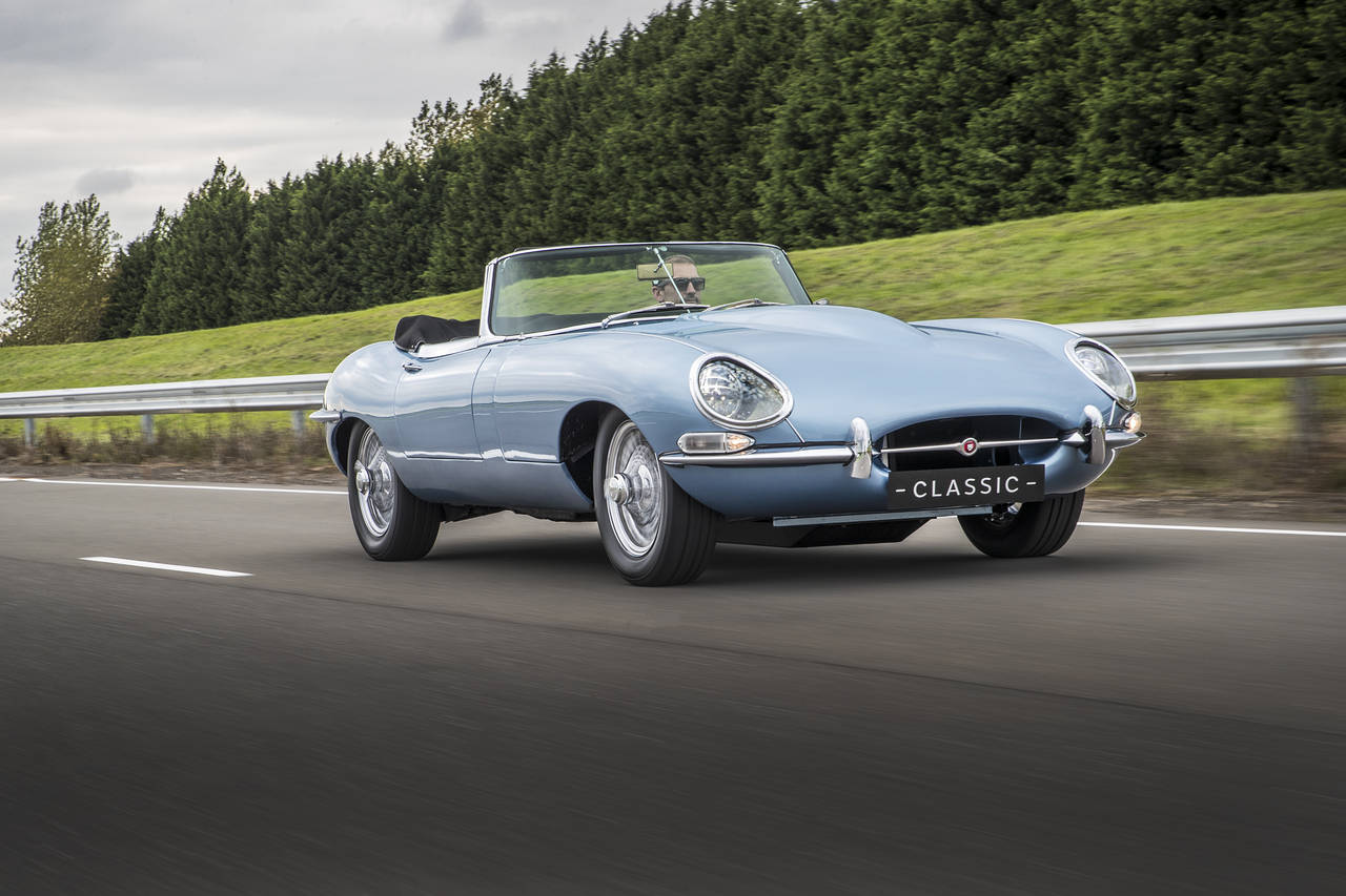 hight resolution of 1968 jaguar e type zero revamping the vintage roadster as an electric car wsj