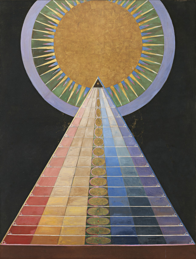 Hilma af Klint's 'Group X, No. 1, Altarpiece' (1915)