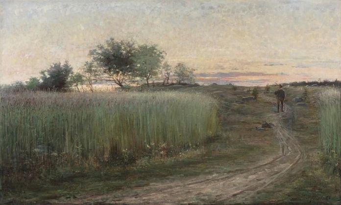 Hilma af Klint's 'Summer Landscape' (1888)