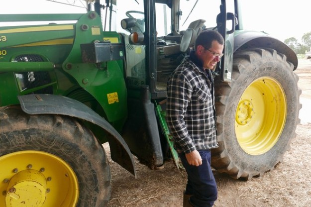 Gary Wight says Australia's water market has left behind dairy farms like his.