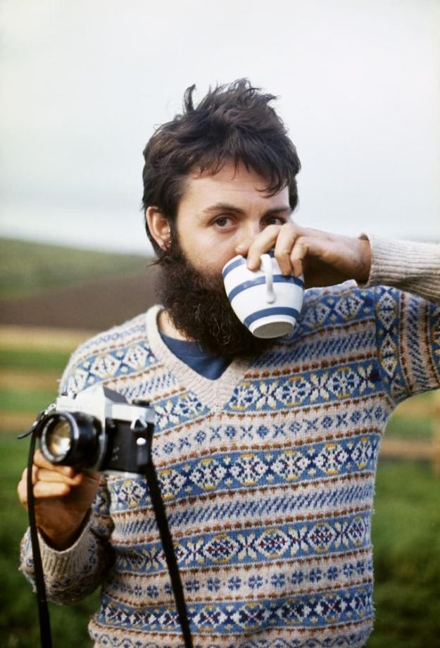 FAIR PLAY Paul McCartney living like a local in Scotland in 1970.