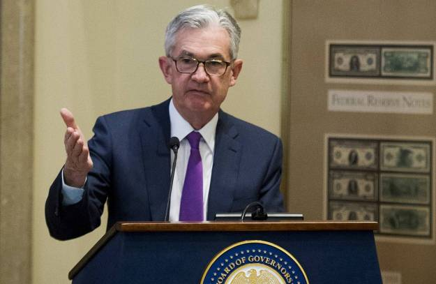 """Markets rallied last week when Fed Chairman Jerome Powell said short-term rates are """"just below"""" a range of estimates of where a neutral rate might be."""