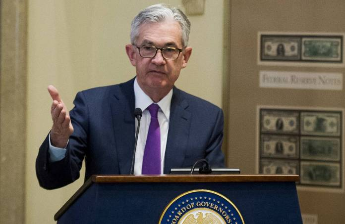 "Markets rallied last week when Fed Chairman Jerome Powell said short-term rates are ""just below"" a range of estimates of where a neutral rate might be."