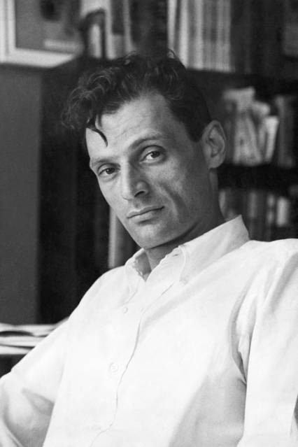 Playwright Arthur Miller in New York, May 1949.