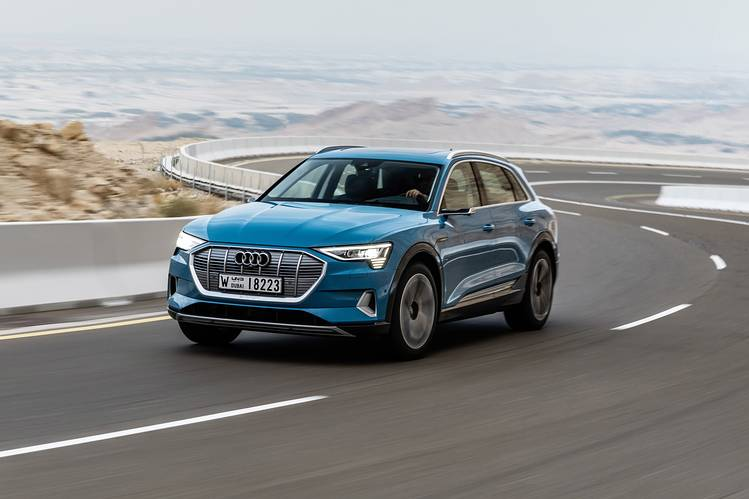 Audis Long Awaited Electric Crossover It Already Needs A Recharge