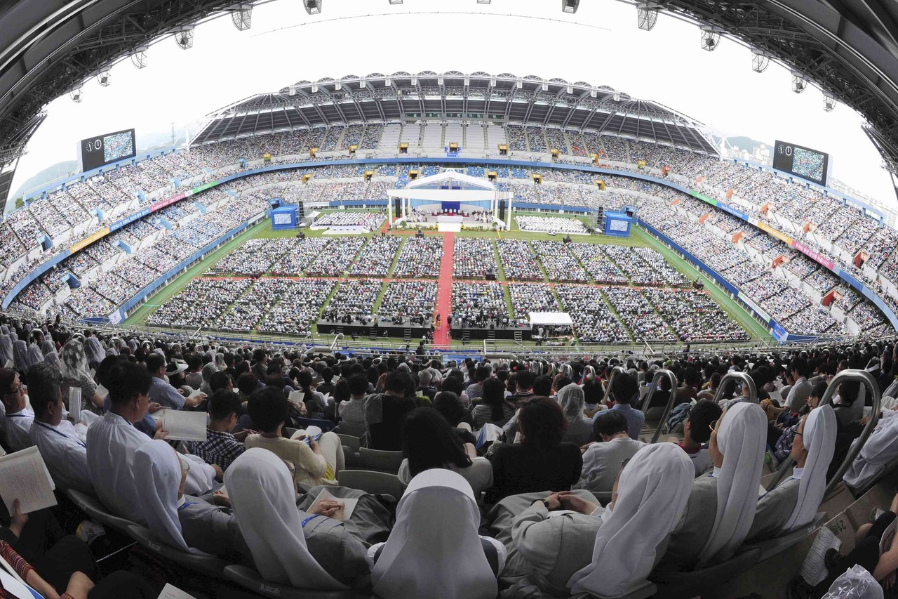 Dangjin-si South Korea  City new picture : ... not hypocrites — With Best Images from Pope's Visit in South Korea