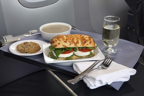 United to Serve Up Improved Food on Domestic FirstClass