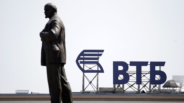 The Russian government and central bank have vowed to provide capital to sanctioned companies such as VTB Bank.