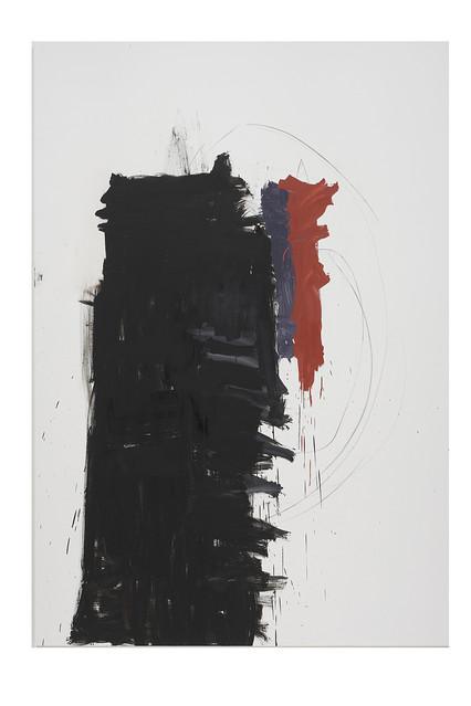 'Angie Adams/Franz Kline' (2010-11), by Richard Aldrich.