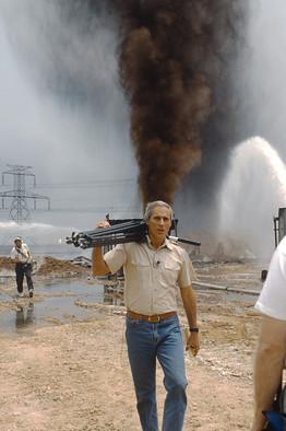 Bob Simon in Baghdad in 1991