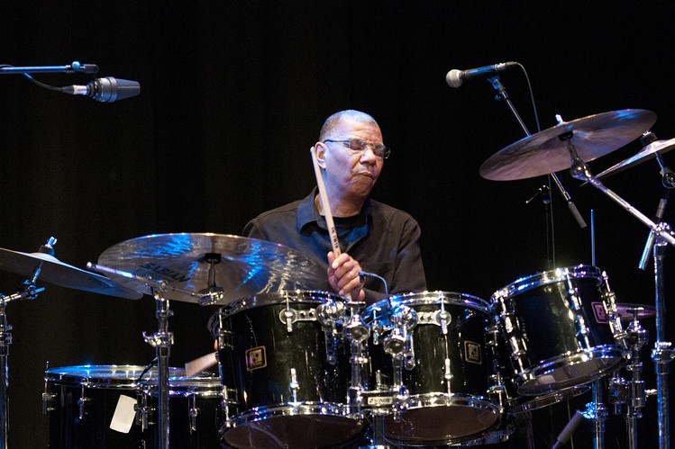 Jack DeJohnette performs in London in 2012.