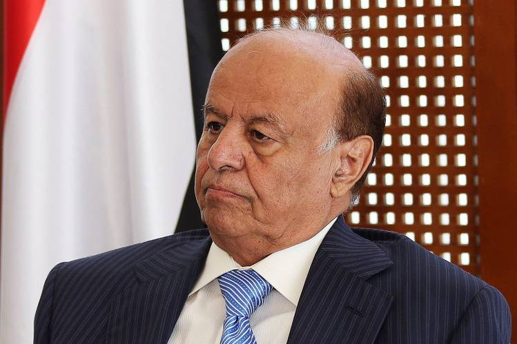 Yemeni President Abed Rabbo Mansour Hadi in Aden on March 4. Mr. Hadi on Saturday called on the Houthis to withdraw forces from government buildings and leave San'a.