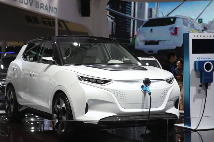 executive shows china's first home-grown electric sports car - wsj